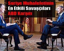 Obama, Suriyeli Muhalifleri Rastgele Silahlandırmaya Karşı