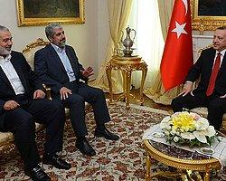 Erdoğan Filistinli Liderlerle Görüşüyor