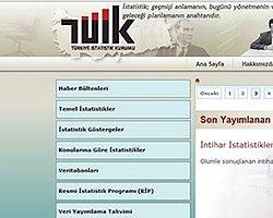 Tüik'in Web Sitesi Yenilendi