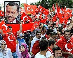 Başbakan Erdoğan'a Viyana'da Destek Mitingi