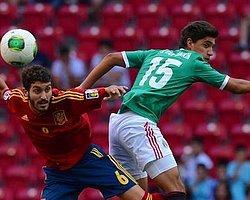 U20'de İspanya Vizeyi 90'da Aldı
