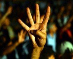 Ankara'da Mısır Protestosu