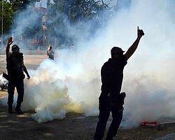 Ankara'da KESK'e Gazlı Müdahale
