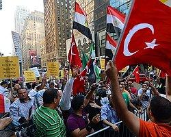 Mısır'daki Katliam New York'ta Protesto Edildi