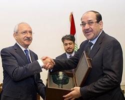 Maliki, Kılıçdaroğlu'nu Kapıda Karşıladı