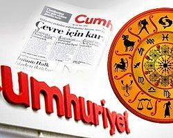 Cumhuriyet Gazetesine Astroloji Yakışır Mı?
