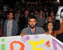 Eylemciler Eskişehir'de Tren Durdurdu