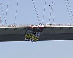 Mustafa Sarıgül'e Destek Pankartı Boğaziçi Köprüsünde