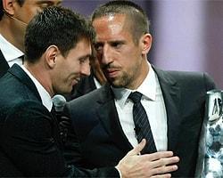 """Lionel Messi: """"Ribery Ödülü Hak Etti"""""""