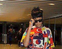 Türk Bayraklı Rihanna!