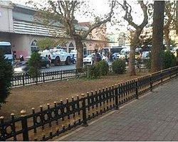 Kadıköy'de Polis Ablukası