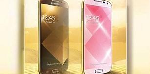 Samsung'tan Altın Galaxy S4!