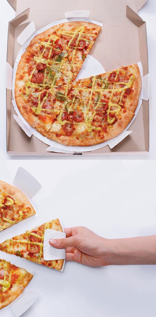 Как сделать упаковку пиццу