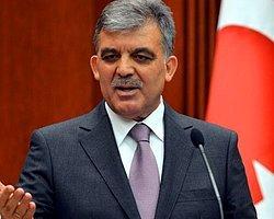 Abdullah Gül'ün Programı İptal Oldu!