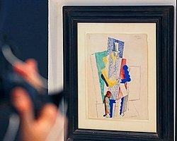 Picasso'nun Tablosuna 100 Euro'ya Sahip Oldu