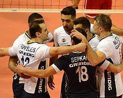 Fenerbahçe Grundig 8'li Finallerde: 3-1