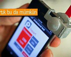 Akıllı telefondan kolesterol ölçme devri başlıyor