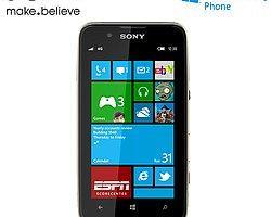 Sony'den Windows Phone'lu telefon geliyor!