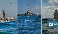 Dalgaların arasından İstanbul