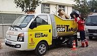 Türkiye'de Bir İlk:  Çöp Toplayan Taksi