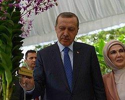 Erdoğan Çiftinden Singapur'da 'Orkide' İmzası
