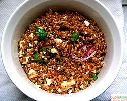 Tavuklu Buğdaylı Salata Tarifi (6 Kişilik)