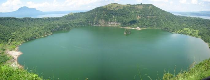 Filipinler'de Bulunan Adanın İçindeki Gölün İçindeki Adanın İçindeki ...