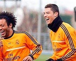 Antrenmanda Attığı Çalım Cristiano Ronaldo'yu Coşturdu