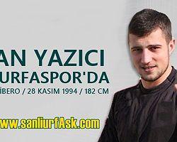 Ercan Yazıcı Şanlıurfaspor'da