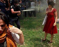 'Kırmızılı Kadın'dan Erdoğan'a Suç Duyurusu