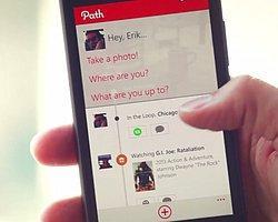 Path Nihayet Beta Olarak Windows Phone 8 İçin Yayınlandı