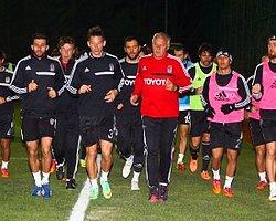 Beşiktaş 2 Eksikle Çalıştı
