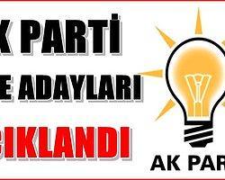 Malatya Ak Parti İlçe Adayları Resmen Açıklandı
