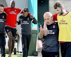 Trabzonda Bamba ve Yumlu Sakatlandı
