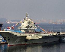 Çin'de yeni bir uçak gemisi yapılıyor.