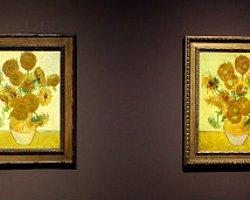 Van Gogh'un 'Ayçiçekleri' Buluşuyor