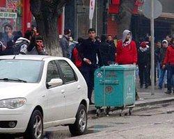 Gaziantep'de Taşlı Sopalı Kavga