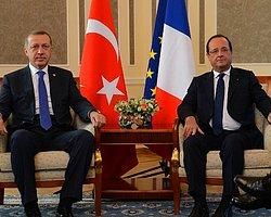 Hollande'a Türkiye Protestosu