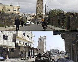 Suriye'deki savaş bir tarihi de yok etti!