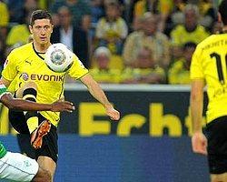 Dortmund Bremen'e Gol Oldu Yağdı