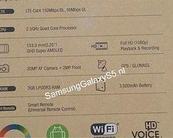 Samsung Galaxy S5′in Özellikleri Ortaya Çıktı
