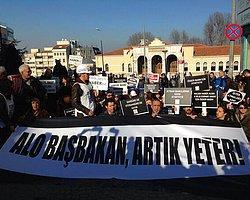 """Gazeteciler """"Özgür Basın"""" İçin Yürüyor"""