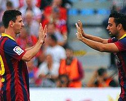 Xavi'den Messi'ye Destek
