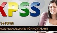 2014 KPSS'den Yüksek Puan Almanın Yolları