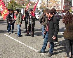 Ankara'da Ak Parti'ye Yürümek İsteyen Gruba Müdahale