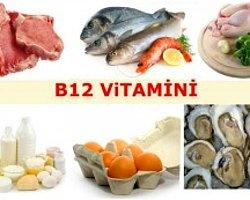 B12 Vitaminini Eksik Etmeyin