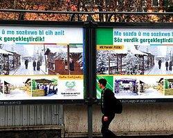 Ak Parti'den Kürtçe Seçim Pankartları