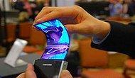 Samsung'tan Kavisli Ekranlı Telefon