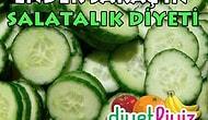 Salatalık Diyeti ile Sağlıklı Zayıflayın !