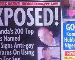 Uganda'da Bir Gazeteden 200 İsimlik 'Eşcinsel Listesi'